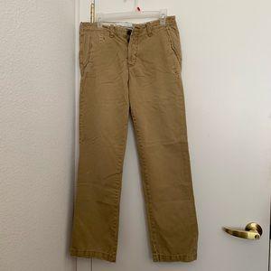 Abercrombie & Fitch Dark Khaki Pants